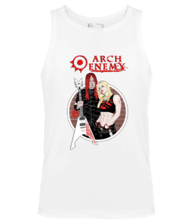 Мужская майка Arch Enemy. Michael and Angela.