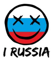 Толстовка Русский смайл