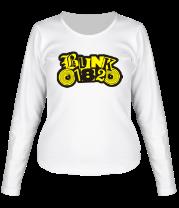 Женская футболка с длинным рукавом Blink 182