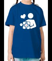 Детская футболка  Куб компаньон