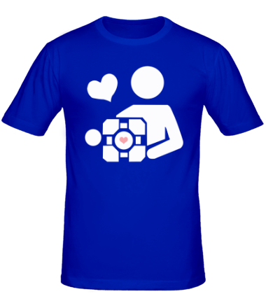 Мужская футболка  Куб компаньон