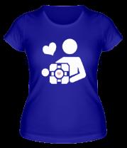 Женская футболка  Куб компаньон