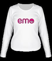 Женская футболка с длинным рукавом Emo