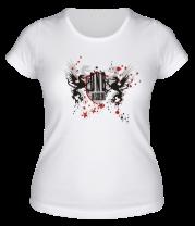 Женская футболка  Drum'n'bass