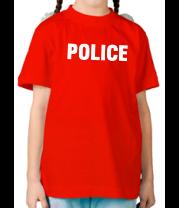 Детская футболка  Police original