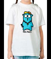 Детская футболка  King party