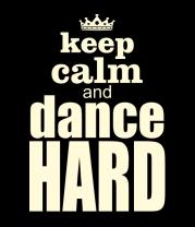 Мужская футболка с длинным рукавом Dance hard