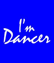 Детская футболка  I'm dancer