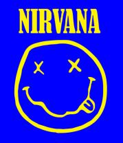 Футболка поло мужская Nirvana
