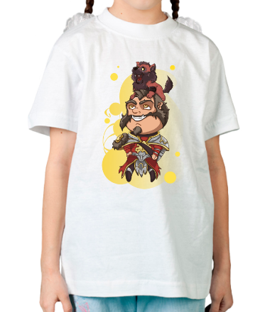 Детская футболка  Lycanthrope with wolf