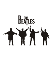 Футболка поло мужская The Beatles