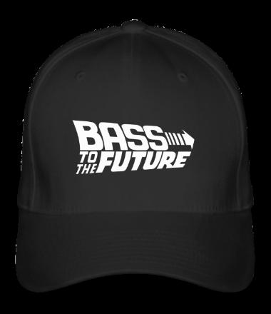 Бейсболка Bass to the Future (white)