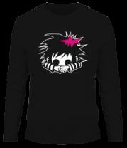 Мужская футболка с длинным рукавом Эмо Гёрл
