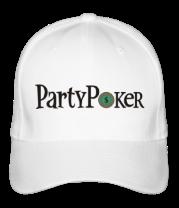 Бейсболка Party poker