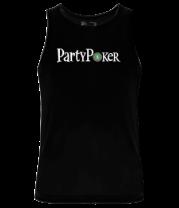 Мужская майка Party poker