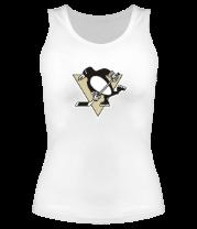 Женская майка борцовка Pittsburgh Penguins