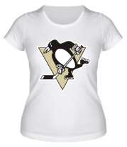 Женская футболка  Pittsburgh Penguins