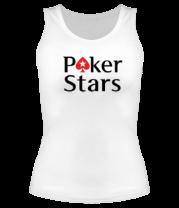 Женская майка борцовка Poker Stars