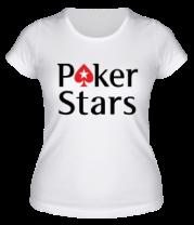 Женская футболка  Poker Stars