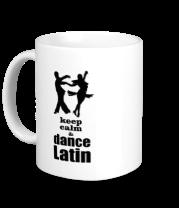 Кружка Keep calm & dance latin