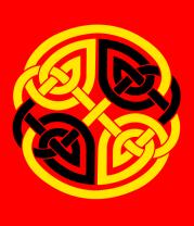 Детская футболка  Двойной кельтский узор