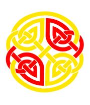Кружка Двойной кельтский узор