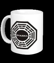 Кружка Dharma logo (lost)