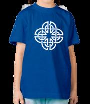 Детская футболка  Кельтский геометрический узор