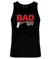 Мужская майка Bad boy (плохой парень)