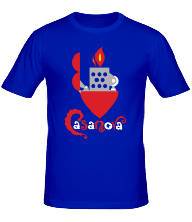 Мужская футболка  Casanova