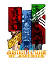 Мужская майка  Лига справедливости Америки