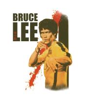 Детская футболка  Bruce Lee blood