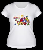 Женская футболка  Карлсон