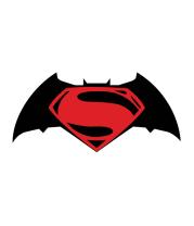 Женская футболка с длинным рукавом Batman vs superman (logo)