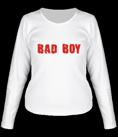 Женская футболка с длинным рукавом Bad Boy