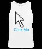 Мужская майка Click Me