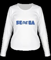 Женская футболка с длинным рукавом Serega