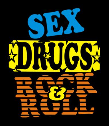 Мужская футболка  Sex Drugs Rock'n'Roll