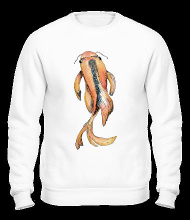 Толстовка без капюшона Рыбка