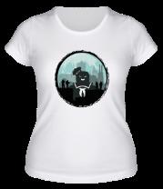 Женская футболка  Охотники против Зефирного