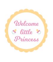 Футболка для беременных Маленькая принцесса