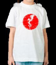 Детская футболка  Дракон и солнце