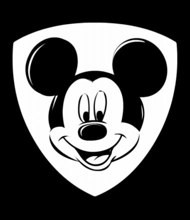 Женская майка борцовка Mickey Mouse