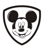 Женская футболка с длинным рукавом Mickey Mouse