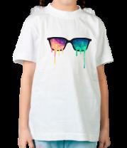 Детская футболка  Абстрактные очки