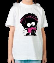 Детская футболка  Улыбочку