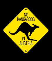 Женская майка борцовка Нет кенгуру в Австрии