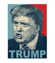 Детская футболка  Trump
