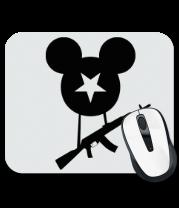 Коврик для мыши Микки с автоматом