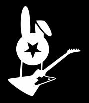 Детская футболка  Заяц с гитарой